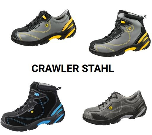 "ESD Schuh ""Crawler Stahl"" Serie"
