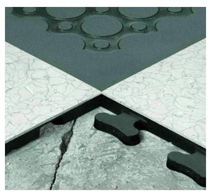 Allgemeininformation Bodenpuzzle für Reinräume