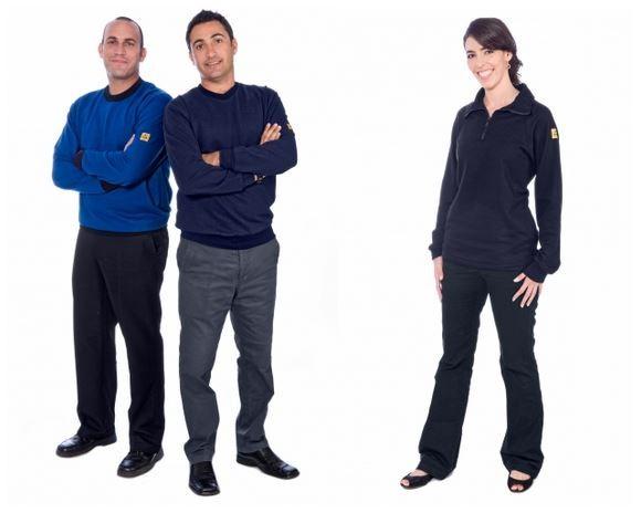 Damen- und Herren-Sweatshirt, leitfähig - SW48 Desig