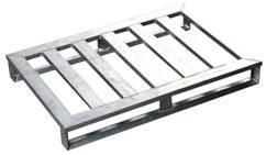 Transportpalette - Aluminium